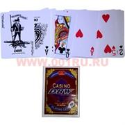 Карты игральные 54 Casino DBW 12 шт/уп 144 шт/кор (100% пластик)