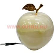 """Лампа-ночник из оникса """"Яблоко"""" 15 см"""