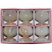 Набор из 6 бокалов 3,6 см (1,5х1,5 дюйма) бренди в картонной коробке