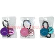 Резинка для волос цветная с шариками (CJ3-122) цена за 20 шт