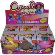 Игрушка «кукла в кексе» 6 шт/уп Cupcake Surprise