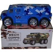 Военная машина музыкальная с ракетами Mech Corps