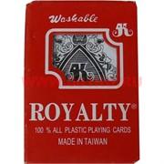 Карты игральные 54 Royalty (Тайвань) 12 шт/уп 144 шт/кор (100% пластик)