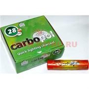 Уголь для кальянов CARBOPOL 28 мм древесный (100 таблеток)
