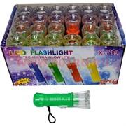 Фонарик LED 11 см (X-719) 24 шт/уп