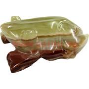 Жаба из оникса 11 см (4 дюйма)