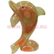 Дельфин из оникса 16 см (6 дюймов)