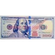 Бумажник-купюрница «100 долларов» цена за 12 шт