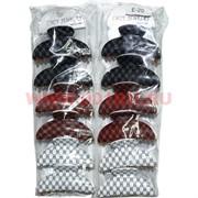 "Заколка для волос ""краб"" (E-20) 3 цвета, цена за 12 штук"