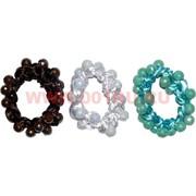 """Резинка для волос """"шарики цветные"""" (JK-220), цена за 20 шт"""