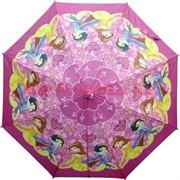 Зонт детский для девочек 19 дюймов, цена за 12 штук, рисунки в ассортименте