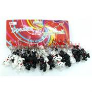 Брелок собачка резиновая далматинец (MDK-05) цена за 120 шт