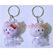 Брелок «Hello Kitty» KL-904 с подсветкой 48 шт/уп