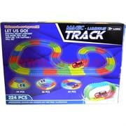 Игрушка с машинкой Magic Luminous Track 224 детали светящаяся
