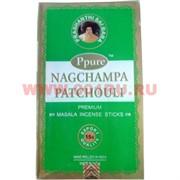 Благовония Ppure Nagchampa Patchouli 15 гр, цена за 12 штук