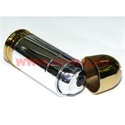 Зажигалка пуля серебро-золото 8 см