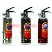 Зажигалка газовая «Огнетушитель» металл 3 цвета