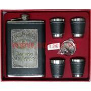 Набор с Флягой 9 унций Jack Daniels + 4 стаканчика (10-16)