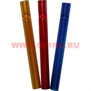 Трубка курительная стеклянная большая цветная 10,5 см