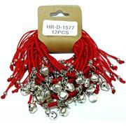 Браслет Красная нить с подвеской (1577) смайлик 12 шт/уп