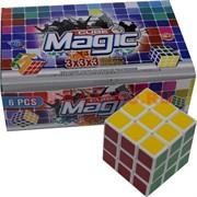 Кубик Головоломка 7 см Magic Cube 6 шт/уп