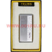 Зажигалка газовая Teling металл с полосками