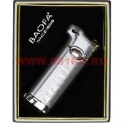 Зажигалка газовая Baofa трубочная металлическая