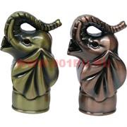 Зажигалка газовая сувенирная «Слоник» со звуком и подсветкой