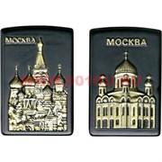 Зажигалка газовая боковая Москва с Кремлем и Собором