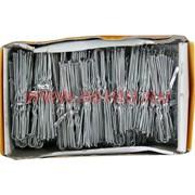 Шпильки для волос белые металлические 62 мм (SDR-1086) цена за 500 шт (1 размер)