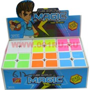 Кубик 55 мм 2х2 с белым фоном 6 шт/уп Magic Cube
