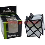 Кубик головоломка 6 см Magic Cube № 339 металлик