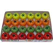 Лизун «помидоры» 24 шт/уп цвета ассортимент