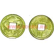 Игрушка для капсул «монета золото 23 мм» 1000 шт/уп