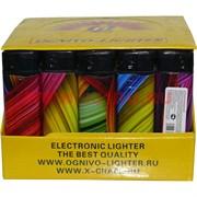 Зажигалка газовая Ognivo-Lighter «текстура» 50 шт/бл