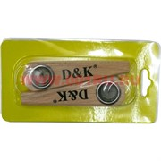 Трубка деревянная курительная D&K цена за 2 штуки