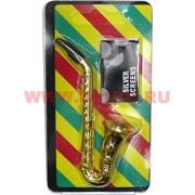 Трубка курительная «саксофон» и сеточки 5 шт