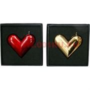 Зажигалка газовая турбо «сердце» 2 цвета (трансформер)
