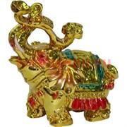 Слон с Жезлом Жуи под золото