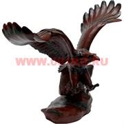 Орел из полистоуна на камне 21 см высота