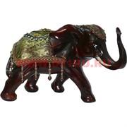 Слон большой 23,5 см с попоной