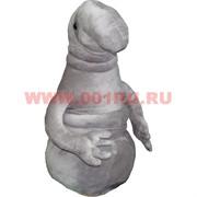 Игрушка мягкая Ждун серый 50 см