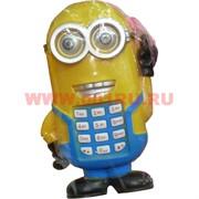 Телефон игрушечный детский «миньон Дэйв»