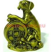 Собака из полистоуна (1749) символ года 7,5 см (200 шт/кор)