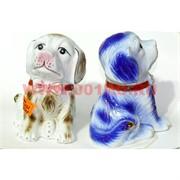 Собака из фарфора 15 см (1732-1754) символ 2018 года 2 цвета