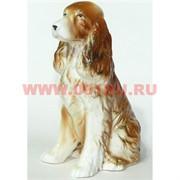 Собака фарфор 14,5 см символ 2018 года (KL-1730) спаниель