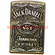 Зажигалка газовая Jack Daniel's (стилизация под бензиновую) 25 шт/бл