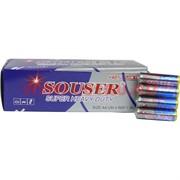 Батарейки Souser AA улучшенные солевые цена за 60 шт