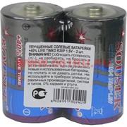 Батарейки Souser D UM-1 улучшенные солевые цена за 24 шт