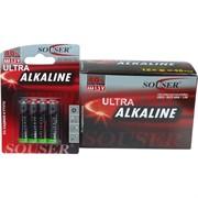 Батарейки Souser AAA алкалиновые цена за 48 шт